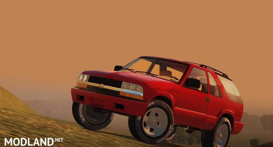 Chevrolet Blazer 2001 [1.5.9]